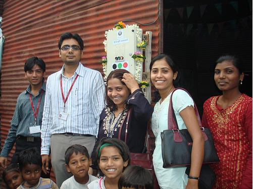 Pune_Slum_inauguration1